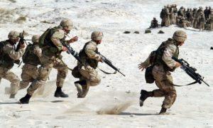 military buildup