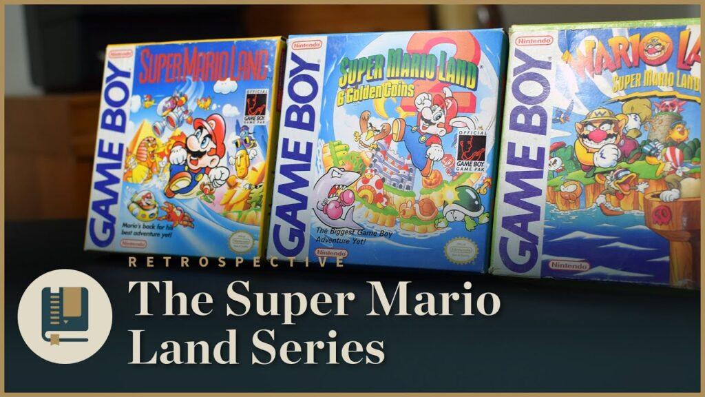 【動画】スーパーマリオランドシリーズの思い出 Gaming Historian